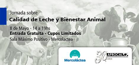 APROCAL en Mercolactea - Jornada sobre Calidad de Leche y Bienestar Animal
