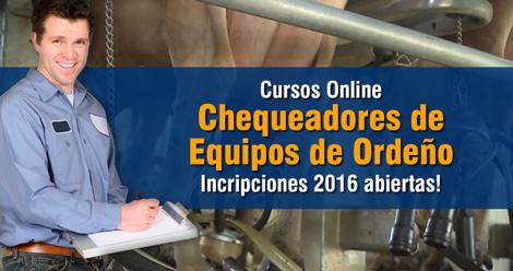 Curso Online de Chequeadores de Equipos de Ordeño