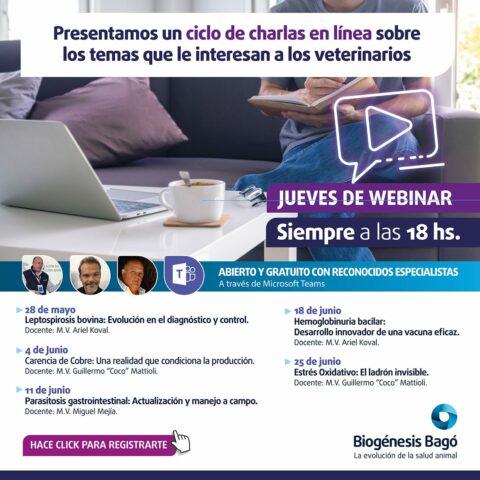 Webinars Biogenésis Bagó
