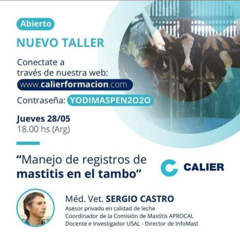 Registro de Mastitis en el Tambo – Calier