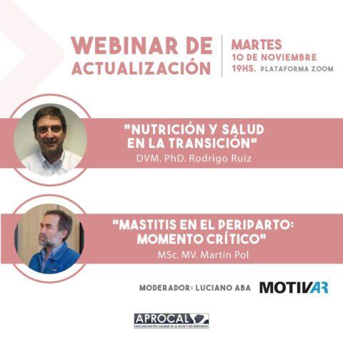 WEBINAR DE ACTUALIZACIÓN